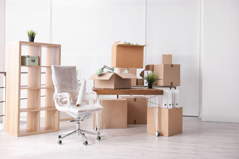 Büro Praxis Firmen Umzug