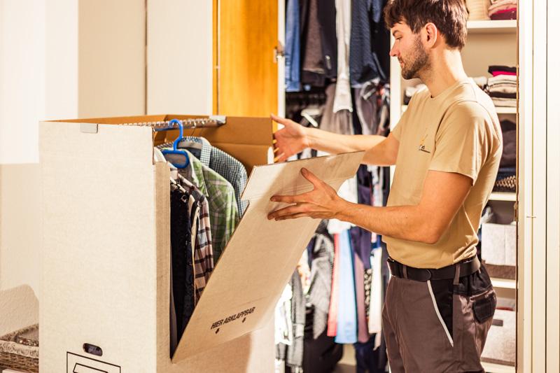 FullService Einpacken Hausrat